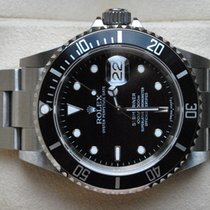 "Rolex [near-NOS+Service] Submariner Date ""no-hole"" - Z - 2006"