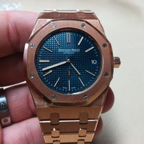 Audemars Piguet JUMBO ULTRA THIN ORO ROSA LIMITED EDITIONS BLU...