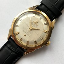Omega Constellation 14393 VINTAGE CHRONOMETER AUTOMATIC AUTOMATIK PIE PAN HONEYCOMB HONIGWABEN 1954 tweedehands