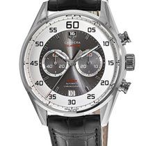 TAG Heuer Carrera Calibre 36 Steel 43mm Silver United States of America, New York, Brooklyn