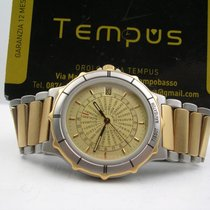 Tissot Navigator Worldtime Acc&Oro 18 Kt NOS Box&Papers YEARS...