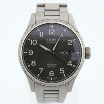 Oris Big Crown ProPilot Day Date Steel 45mm Black Arabic numerals United States of America, New York, New York