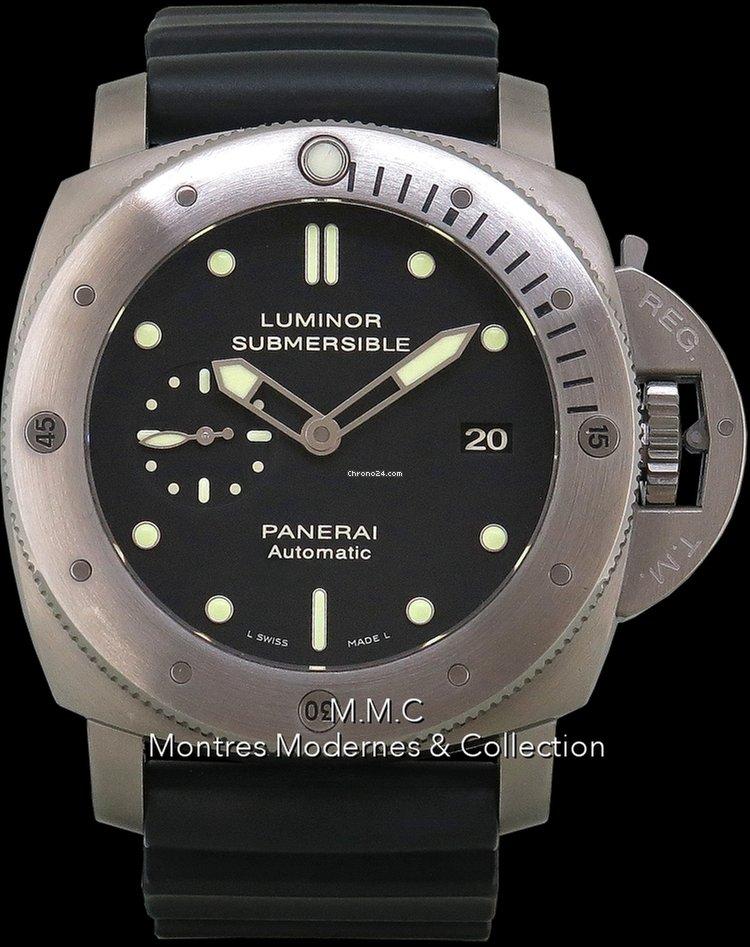 prix de la rue meilleurs tissus achats Panerai Luminor 1950 Submersible Pam305