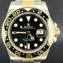 Rolex GMT-Master II Or/Acier 40mm Noir Sans chiffres Belgique, Antwerpen