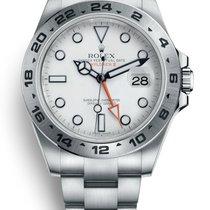 Rolex Explorer II Acier 42mm Blanc Sans chiffres France, CANNES
