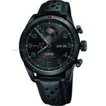 Oris Titanium Automatic Black Arabic numerals 44mm new Audi Sport