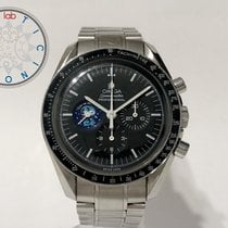 Omega Speedmaster Steel 42mm Black No numerals