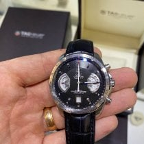 TAG Heuer Grand Carrera Steel 43mm Black No numerals United States of America, Tennesse, Franklin