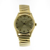 Hamilton Thin-O-Matic Steel 38mm Gold Arabic numerals