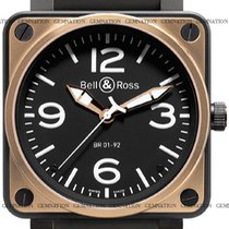 Bell & Ross BR01-92 BR01-92-BD-Carbon-PinkGold