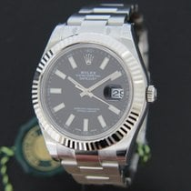 Rolex Oyster Perpetual Datejust II Black NEW