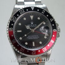 Rolex GMT MASTER II 16710 COKE SWISS ONLY DIAL + CERT ROLEX + BOX