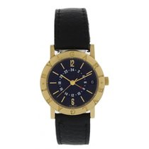 Bulgari BB 33 GL GMT 18K Yellow Gold Automatic