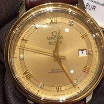 Omega De Ville Prestige 424.23.40.20.58.001-DE VILLE PRESTIGIO Coassiale Oro new