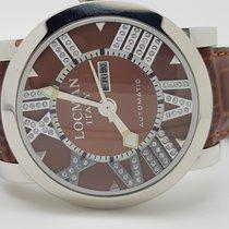 Locman Italy Toscano Diamond Ladies Brown Strap Wrist Watch