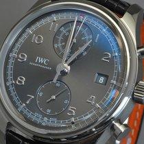 IWC Portuguese Chronograph Staal 42mm Grijs Arabisch Nederland, Assen