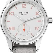 NOMOS Club Campus Steel 36mm White United States of America, New York, Airmont