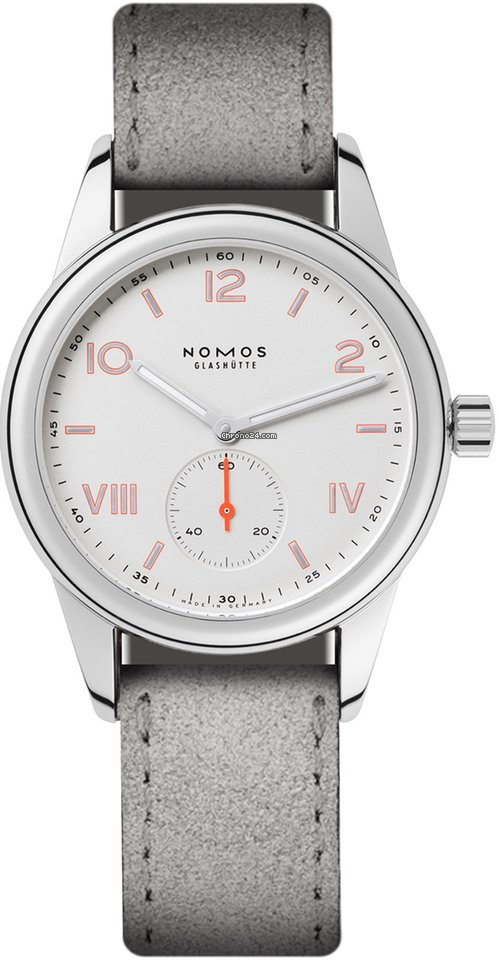 NOMOS Club Campus 708 Stainless Steel Back 2021 new