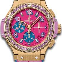 Hublot Big Bang Pop Art Yellow gold 41mm Pink Arabic numerals United Kingdom, Hemel Hempstead, Hertfordshire