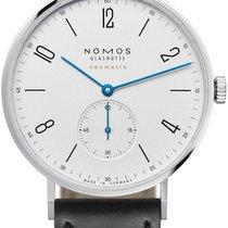 NOMOS Tangente Neomatik Stal 38.5mm Biały Arabskie
