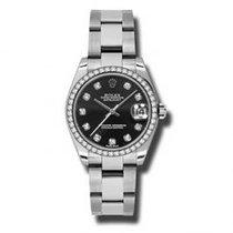 Rolex Lady-Datejust nuevo Reloj con estuche y documentos originales 178384 BKDO