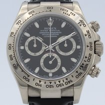 Rolex Daytona occasion 40mm Or blanc