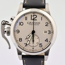 Graham Chronograph 42mm Automatic 2010 pre-owned Silver