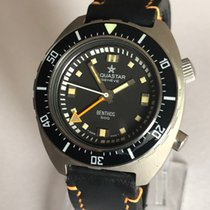 Aquastar 47mm Automatic 1970 pre-owned Black