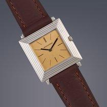 Boucheron 18ct white gold manual watch Engraved Caseback