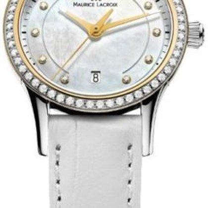 Maurice lacroix женские часы с бриллиантами