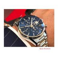 TAG Heuer Carrera Calibre 16 CBK2112.BA0715 TAGHEUER Cronograph Classic Blu Elettrico 41m 2020 new