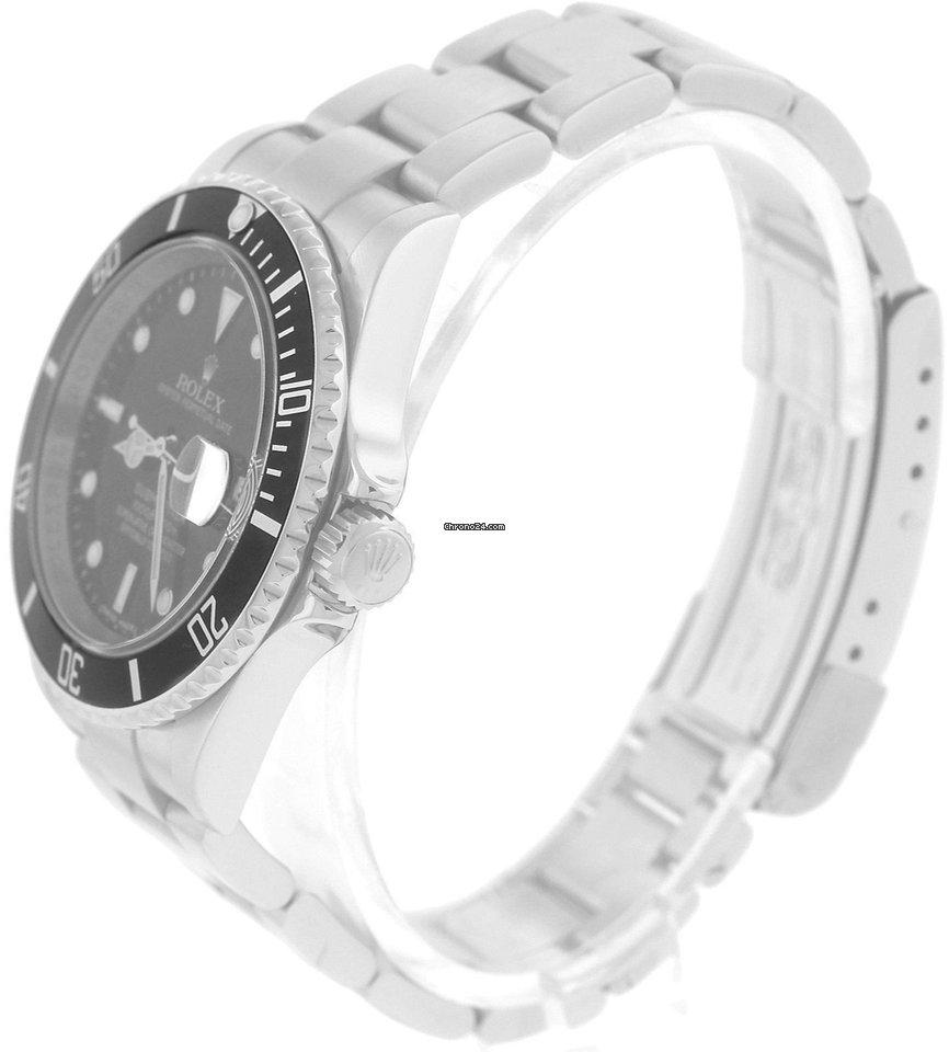 a2093878deb Rolex 2012 ENGRAVED RANDOM SERIAL Rolex Submariner Date 16610... por R   28.967 para vender por um Trusted Seller na Chrono24