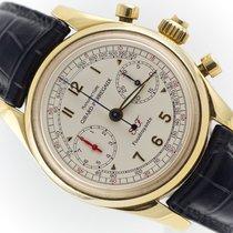 Girard Perregaux Yellow gold Automatic Arabic numerals 40mm pre-owned Ferrari