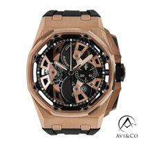 Audemars Piguet Royal Oak Offshore Tourbillon Chronograph Oro rosado 45mm Transparente Sin cifras