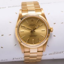 Rolex Oyster Perpetual Yellow gold 34mm