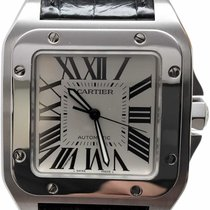 Cartier Steel 41.3mm Automatic 100 W20073X8 pre-owned