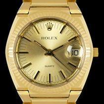 Rolex 5100 Odlično Zuto zlato 39mm Kvarc
