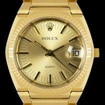 Rolex 5100 Very good Yellow gold 39mm Quartz