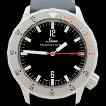 Sinn U212 Steel 47mm Black Arabic numerals