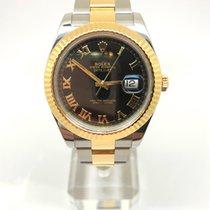 Rolex Datejust II Gold/Steel 41mm Black Roman numerals United Kingdom, Leicester