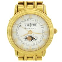 Blancpain Yellow gold 26mm Automatic pre-owned United States of America, New York, New York