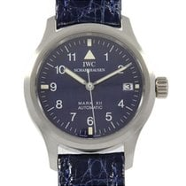 IWC Automatic Blue 36.5mm pre-owned Pilot Mark