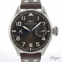 IWC Big Pilot Steel 46mm Brown Arabic numerals