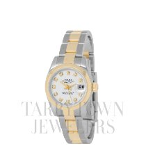 Rolex Lady-Datejust Gold/Steel 26mm White United States of America, New York, Hartsdale