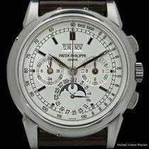 Patek Philippe Perpetual Calendar Chronograph White gold 40mm No numerals United States of America, New York, New York