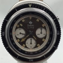 Zodiac Super Sea Wolf Tropical Brown Dial 1970's