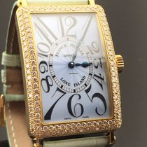 Franck Muller LONG ISLAND 1000 SC D YELLOW GOLD & DIAMONDS