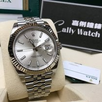Rolex Cally - {2017 New} Datejust 41mm 126334 Silver dial