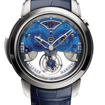 Ulysse Nardin CLASSIC ROYAL IMPERIALE White Gold, LEather Blue...