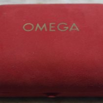Omega rare vintage watch box velvet red leather for man's watches